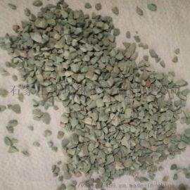 供应沸石颗粒 高强除氨沸石滤料 多肉园艺绿沸石