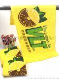 厂家订制广告运动毛巾 数码印花毛巾 球迷打气巾