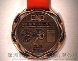 頒獎比賽馬拉松獎牌定做,合金獎牌生產