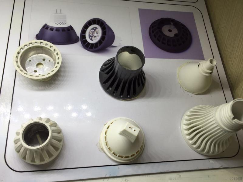 LED导热塑料球泡灯杯 LED导热绝缘散热塑料
