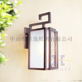镀锌方形中式壁灯 中山恒逸中式壁灯 园林中式壁灯