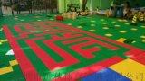 籃球場懸浮拼裝地板 運動場塑膠地板