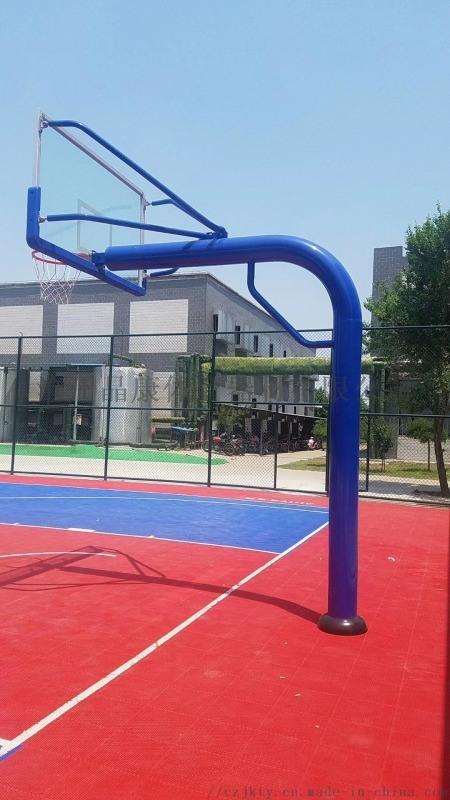 圆管地埋篮球架 北京篮球架 标准篮球架