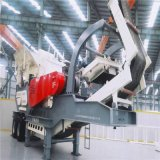 1210型时产100吨碎石机 移动石灰岩石头破碎机