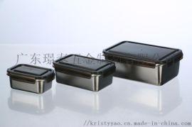 316L不锈钢密封盖保鲜盒  型午餐饭盒