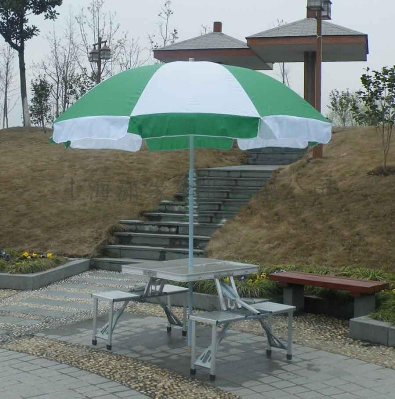 摆摊夜市折叠桌便捷式手提铝合金折叠桌椅太阳伞组合