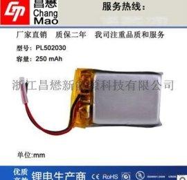 聚合物 电池502030-250mAh电子打火机点烟器 电池蓝牙音响