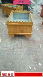 户外园林花箱售后好 特价室外木质花钵