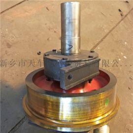 250*90铸钢单边车轮组 行车轮 龙门吊轨道轮