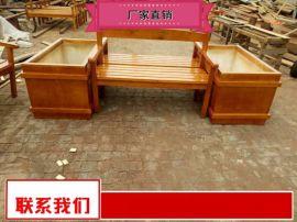 小区塑木花箱沧州奥   器材 质量好室外外景观花箱