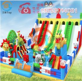 专业订制充气滑梯儿童游乐设备新款推荐