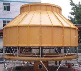 鞍山工业型冷却塔 圆形逆流式冷却塔 玻璃钢冷却塔