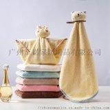 至诺家居 广州珊瑚绒卡通小方巾