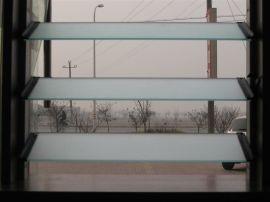 磨砂百叶窗玻璃
