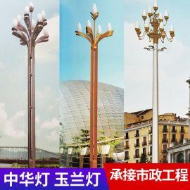 AE照明 定制玉兰 定制玉兰灯景观灯户外 6米8米13米15米广场工程LED中华灯定制