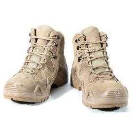 MilTec登山鞋男户外鞋春夏季防水鞋防滑耐磨运动牛皮高帮徒步鞋