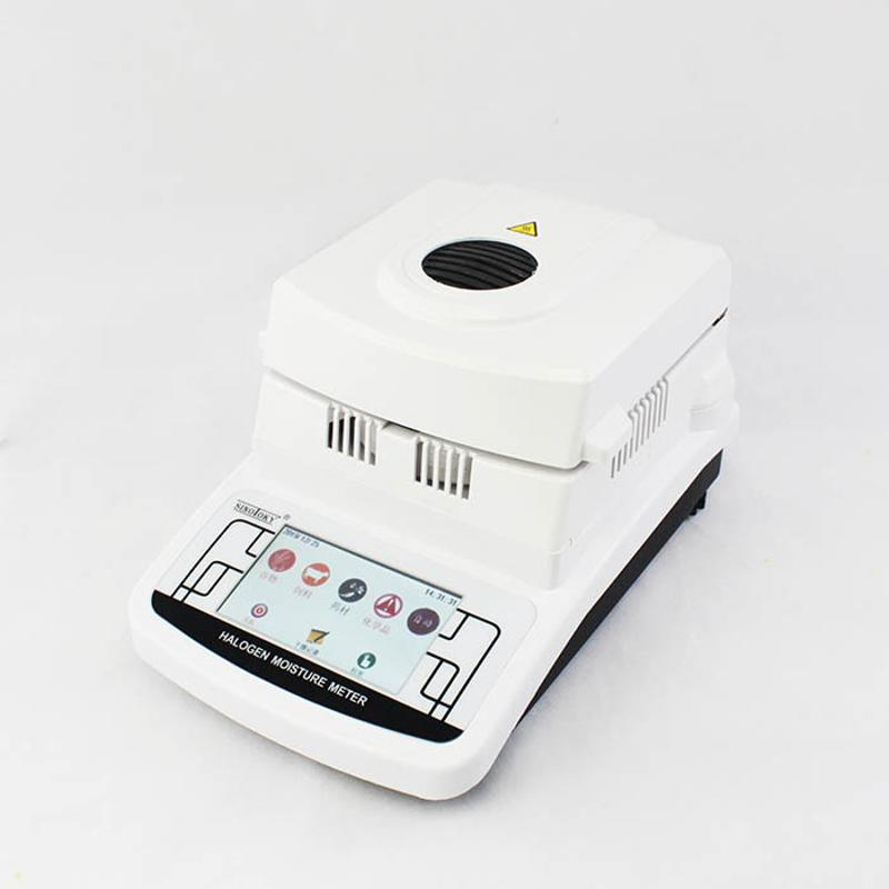 青岛工厂批发化工粉末专用高性价比卤素水份仪MS105