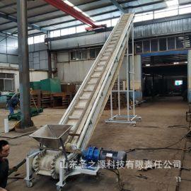 热销带式皮带运输机 煤炭皮带输送机 动力伸缩滚筒输送机