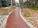印模混凝土生態混凝土桓石150餘種彩色壓花地坪價格