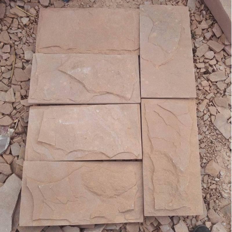 外墙文化石高粱红文化石低碳环保建材材料