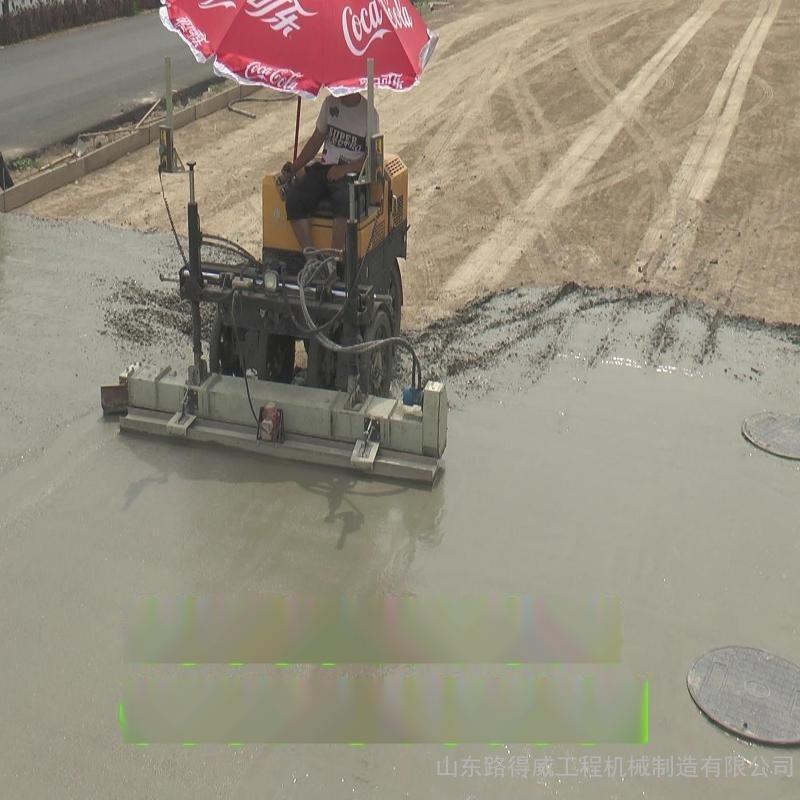 激光扫描混凝土摊铺整平机 专业大厂 山东路得威