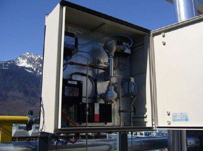 在线天然气水露点分析仪