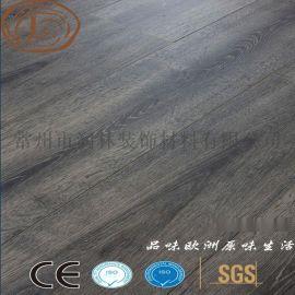 12毫米同步对花强化复合木地板