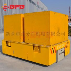 加工设备90吨电动钢包车 码头防水过跨搬运车