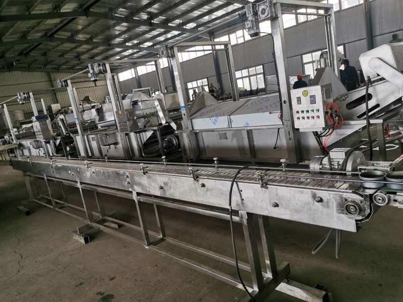 山東五香黃花魚 香辣黃花魚全套生產線生廠家直銷
