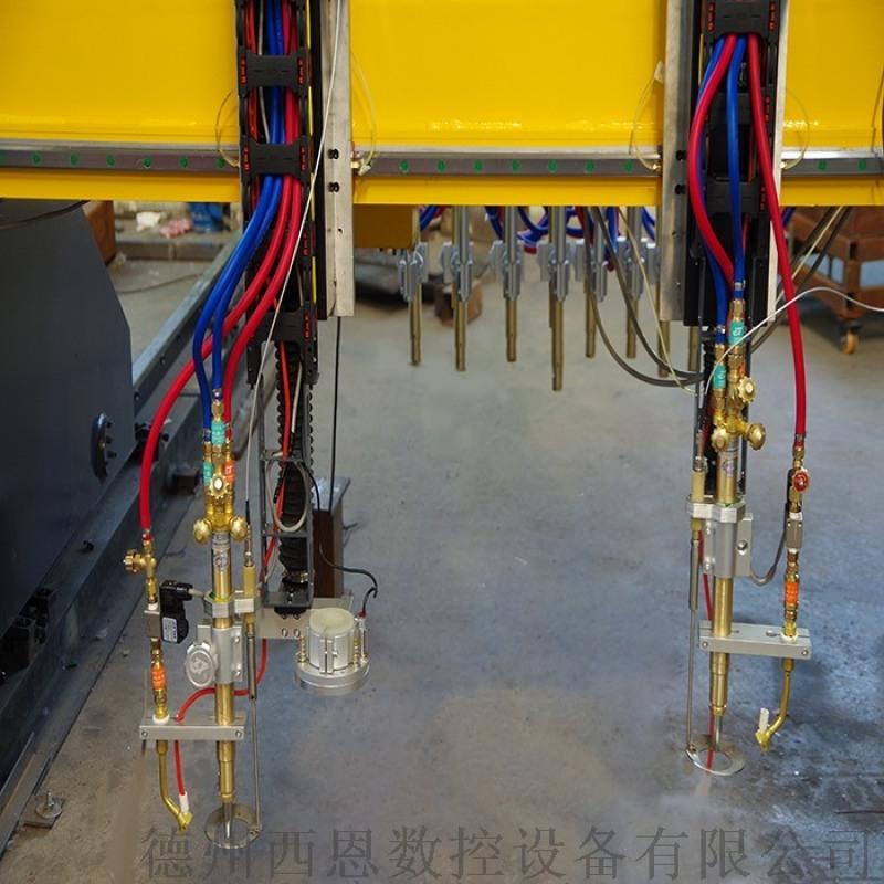 多割头数控火焰切割机 直条式数控等离子切割机