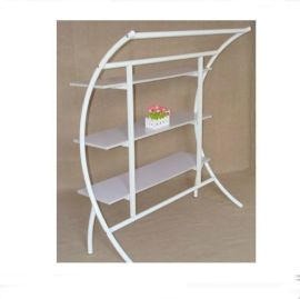 供应五金展示架 不锈钢展示架 铁架 专卖店展示柜货架