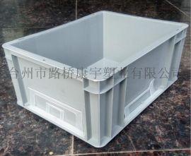 防静电塑料周转箱 EU4628物流箱 汽车零件工具箱批发