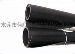 【东莞厂家优势供应】 5mm黑色硅胶板