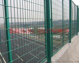 东莞草绿色浸塑高速公路护栏网