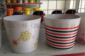 15cm 白色美耐皿花盆