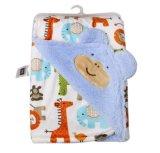卡通印花加厚外貿毛毯 嬰幼兒抱被 多款可選 優質品牌小毯子批發