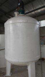 搅拌罐厂家济南新星专业承做各种型号防腐塑料罐