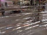 学校专用木纹铝格栅吊顶