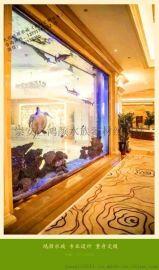 常州公司专业大型鱼缸、假山园林制作20余年,上门订做各种大型亚克力鱼缸