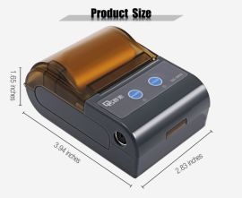 58mm便携蓝牙打印机 迷你热敏**打印 安卓 热敏打印机