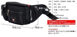 軍刀腰包 旅遊健身戶外運動 黑色經典款式 可批量訂製