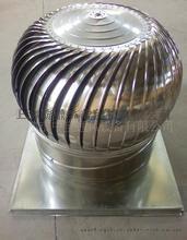 彩色不锈钢烟道风帽600型无动力通风球