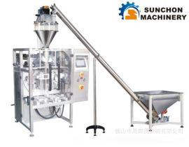 晟奇奥供应面包粉、披萨粉、低(高)筋粉各类粉末螺杆计量立式自动包装机