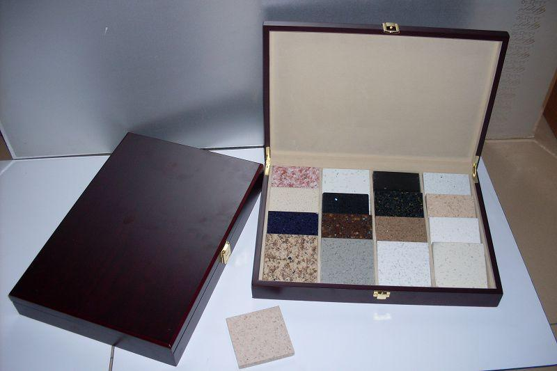 石材樣品木盒色卡盒樣品盒