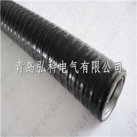 标准双勾平包塑软管,DN20不锈钢平塑管批发
