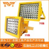 LED防爆燈50W100W200W300W化工廠工業照明燈防爆投光燈加油站燈