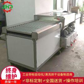佛山厂家直销中空板隔板除尘平面毛刷清洗烘干机去污洗尘小型清洗