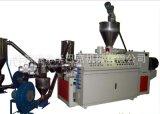SJSZ-80錐型雙螺桿擠出造粒機/PVC透明軟料造粒/pvc硬料造粒機