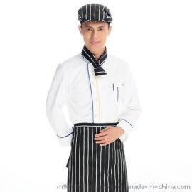 厨师服 酒店厨师套装 厨师工作服 餐厅厨师服 服务生制服