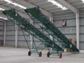 小麦移动式皮带输送机 超耐磨带式运输机 家用型输送机